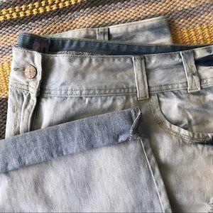 ASOS Curve Distressed Boyfriend Jeans
